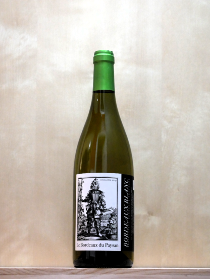 Le Bordeaux du Paysan blanc