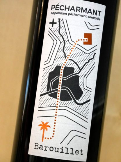 Pecharmant vin rouge Barouillet